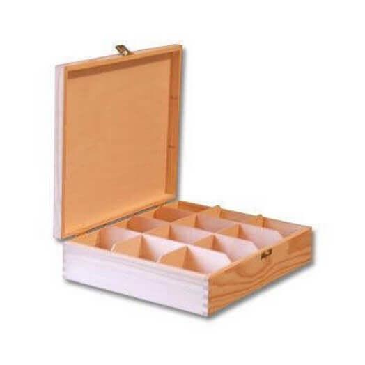 Κουτί με 12 χωρίσματα 29 x 24 x 7,5cm