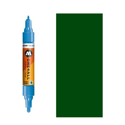 Μαρκαδόρος MOLOTOW ONE4ALL Twin, 145 Future Green