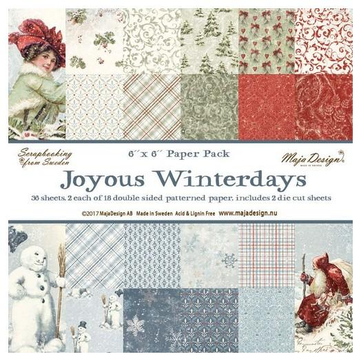 Album Scrapbooking Maja Collection διπλής όψης, Joyous Winterday