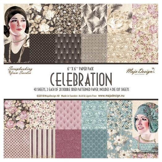 Album Scrapbooking Maja Collection διπλής όψης, Celebration
