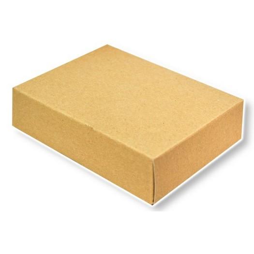 Κουτί χάρτινο κοσμημάτων κραφτ 13x11x3cm