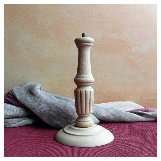 Λάμπα ξύλινη με καλωδίωση 21cm