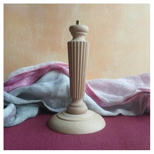 Λάμπα ξύλινη με καλωδίωση 21,50cm