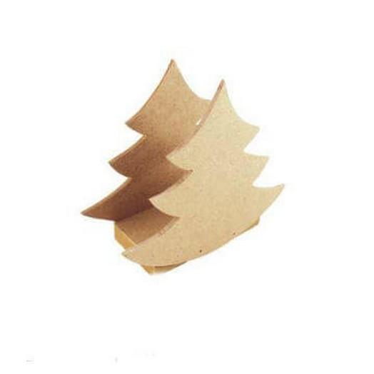 """Πετσετοθήκη """"Χριστουγεννιάτικο δέντρο"""" 13x11x4cm"""