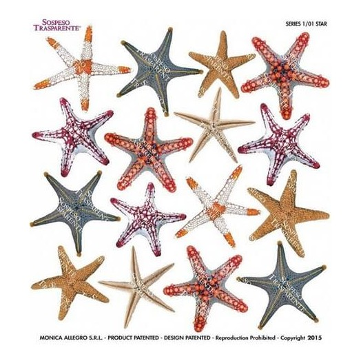 Τυπωμένo φύλλο-Ζελατίνη για Sospeso STS1.01, Star