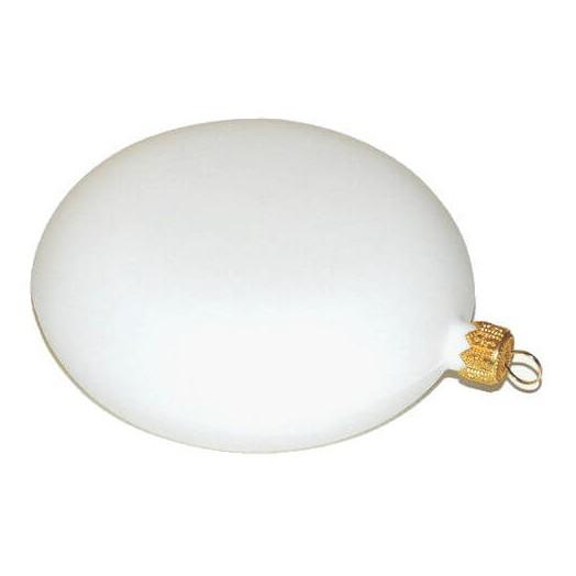 Μενταγιόν πλαστικό λευκό για διακόσμηση Ø20cm