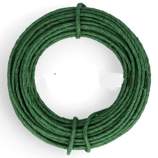 Σύρμα καλυμμένο με χαρτί, green