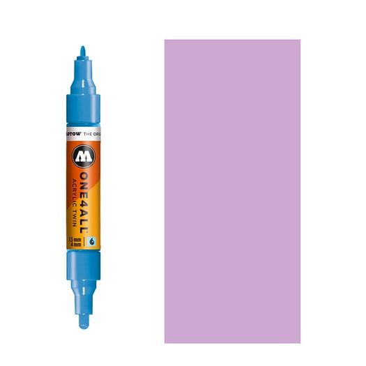 Μαρκαδόρος MOLOTOW ONE4ALL Twin, 201 Lilac Pastel