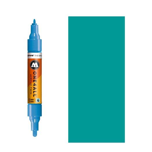 Μαρκαδόρος MOLOTOW ONE4ALL Twin,  206 Lagoon Blue