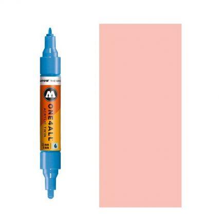 Μαρκαδόρος MOLOTOW ONE4ALL Twin, 207 Skin Pastel