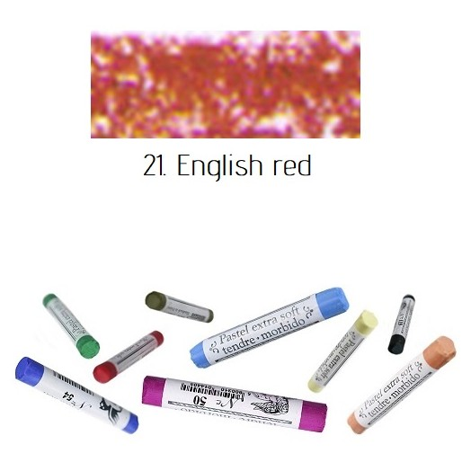 Soft pastel Extrafine Renesans - English Red