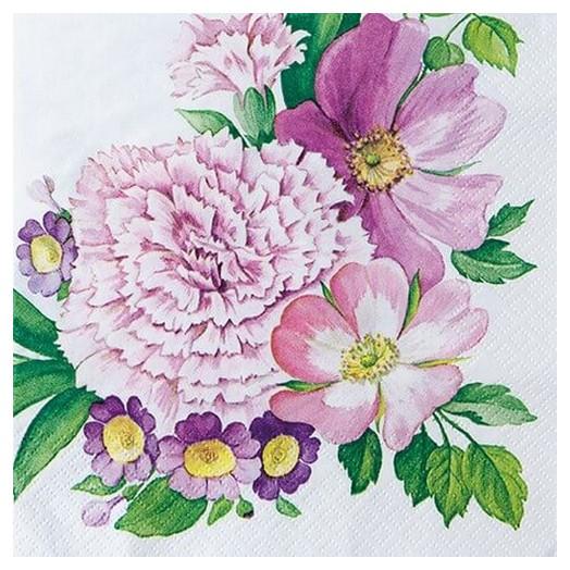 Χαρτοπετσέτα για Decoupage Carnation flower, 1τεμ.