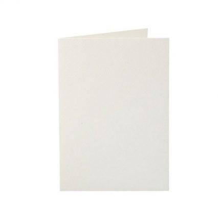 Κάρτες για προσκλητήρια, 10 τεμ., off white