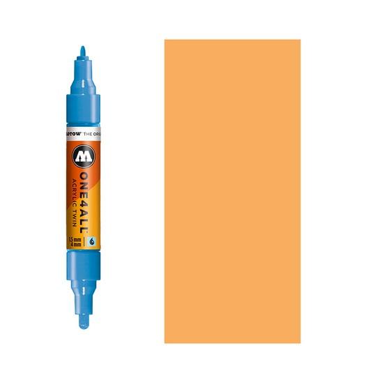 Μαρκαδόρος MOLOTOW ONE4ALL Twin, 218 Neon Orange Fluorescent