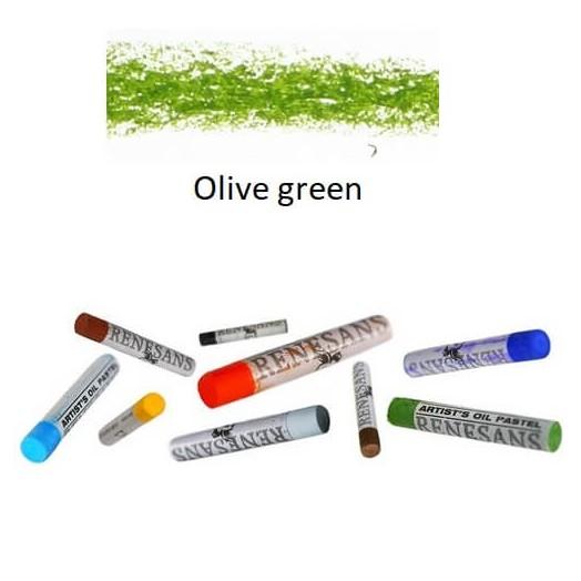 Λαδοπαστέλ oil pastel fine Renesans - Olive Green