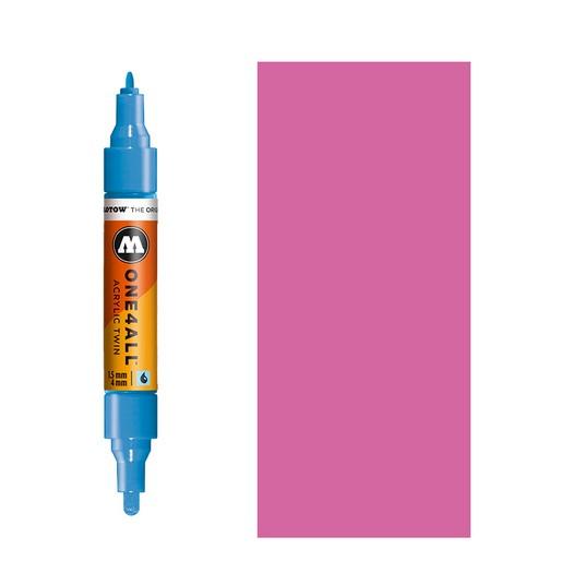 Μαρκαδόρος MOLOTOW ONE4ALL Twin, 231 Fuchsia Pink