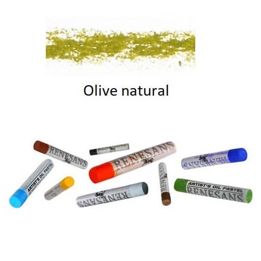 Λαδοπαστέλ oil pastel fine Renesans - Olive Natural