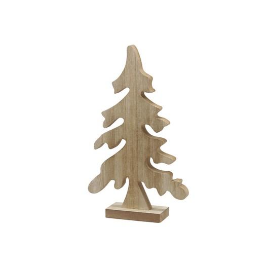 Ξύλινο δέντρο με βάση κυματιστό, 29,5cm