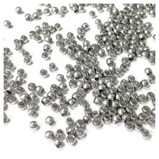 Στοπάκια, 3mm, silver