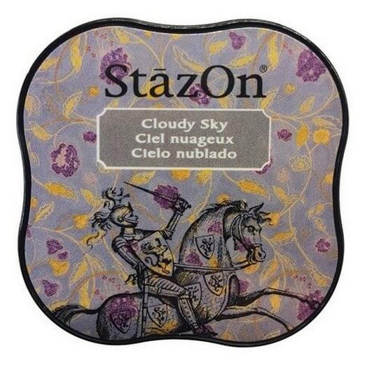 Μελάνι Ανεξίτηλο για σφραγίδες, Stazon Cloudy Sky