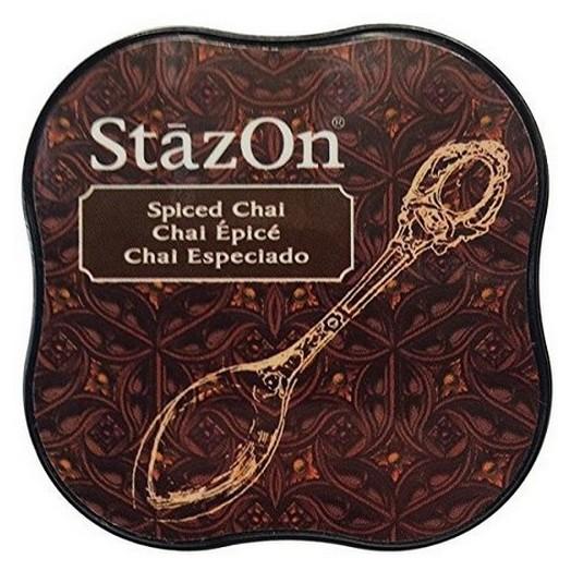 Μελάνι Ανεξίτηλο για σφραγίδες, Stazon Spiced Chai