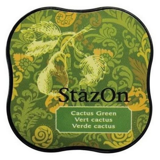 Μελάνι Ανεξίτηλο για σφραγίδες, Stazon Cactus Green
