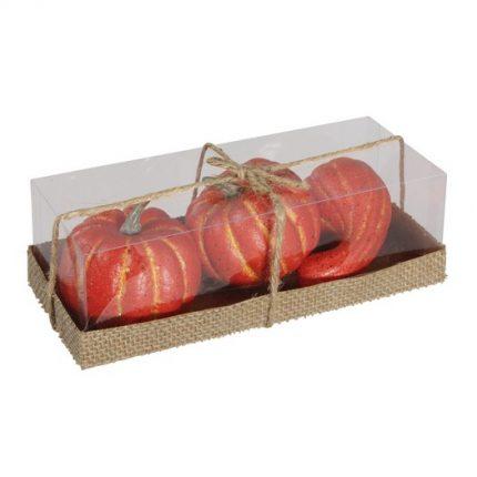Κολοκύθες διακοσμητικές, 3 τεμ., orange