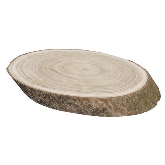 Κορμός δέντρου-πλάγια φέτα, 38x22x4cm
