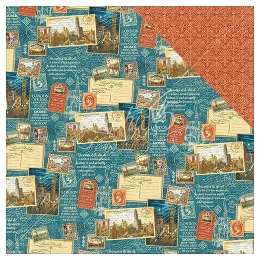 Χαρτί scrapbooking  Graphic 45 , Passport To The World