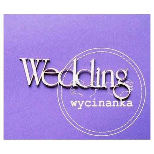 Chipboard Wedding, 3 x 8 cm