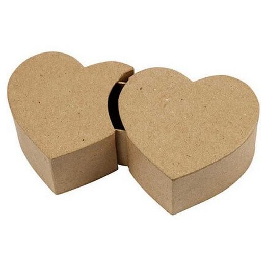 Χάρτινη καρδιά αποσπόμενη 20,3 cm