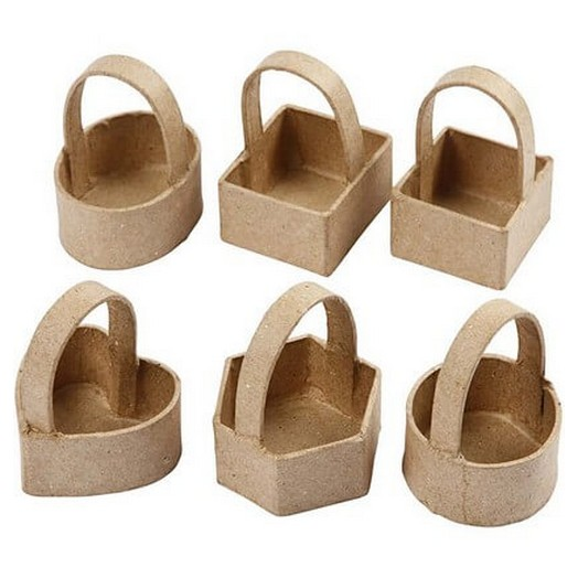 Mini basket, 6,5 cm, 6 τεμ.