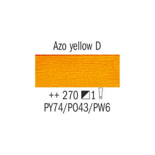 Λάδι Van Gogh Talens 20ml, Azo Yellow Deep