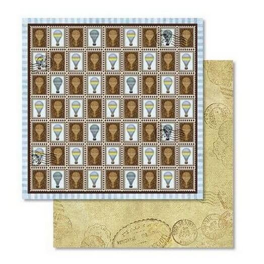Χαρτί Scrapbooking Ursus με Glitter 30,50x30,5cm , Photography