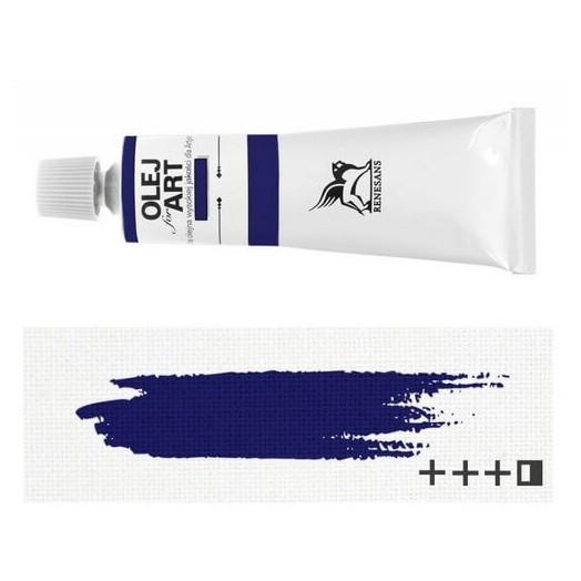 Λάδι ζωγραφικής Renesans 20ml - Cyan Blue