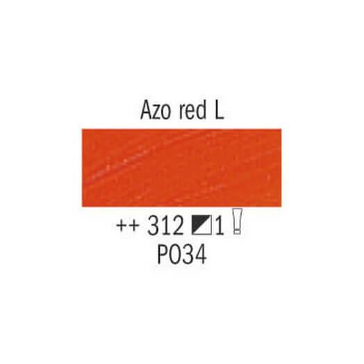 Λάδι Van Gogh Talens 20ml, Azo Red Light