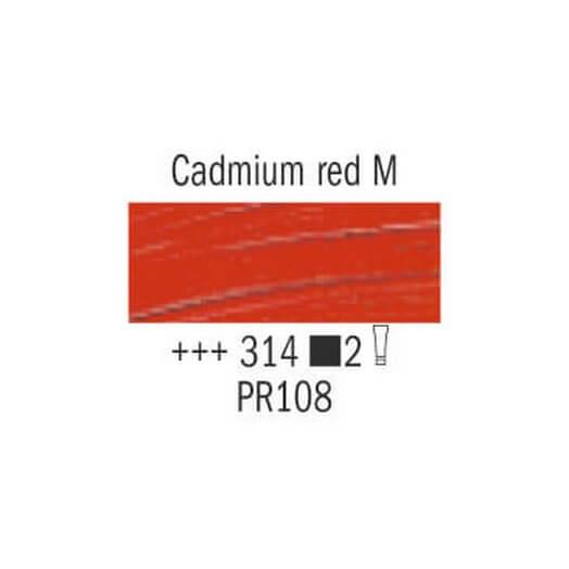 Λάδι Van Gogh Talens 60ml, Cadmium Red Medium