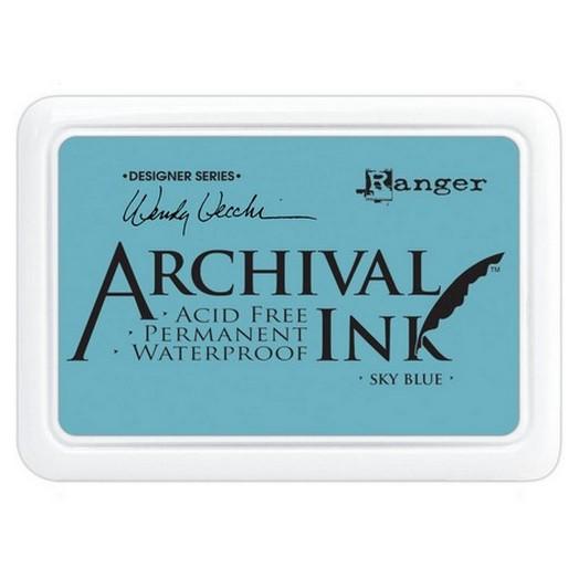 Ανεξίτηλο μελάνι Archival Ink Pad - Sky Blue