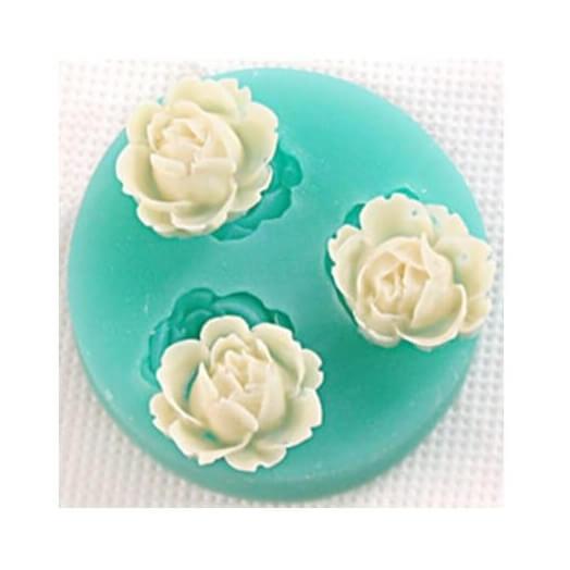 Καλούπι σιλικόνης, Flowers 48x14mm