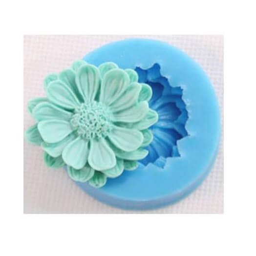 Καλούπι σιλικόνης, Flower Daisy 50x15mm