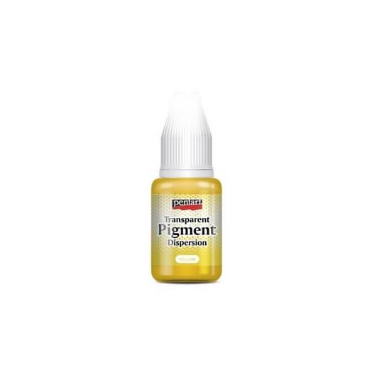 Transparent pigment dispersion 20ml, Pentart - Yellow