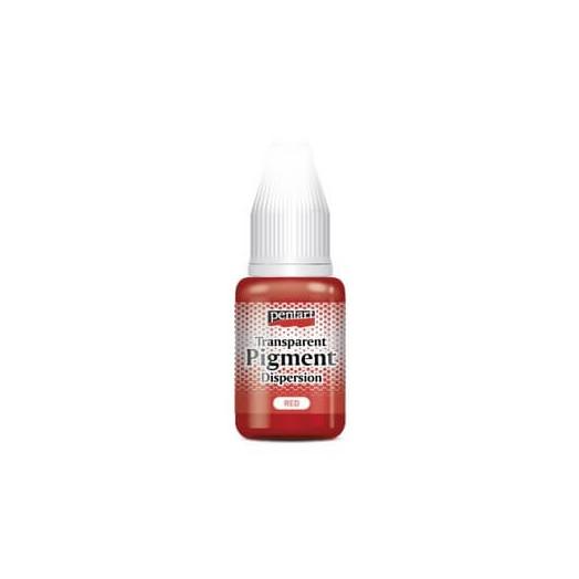 Transparent pigment dispersion 20ml, Pentart - Red