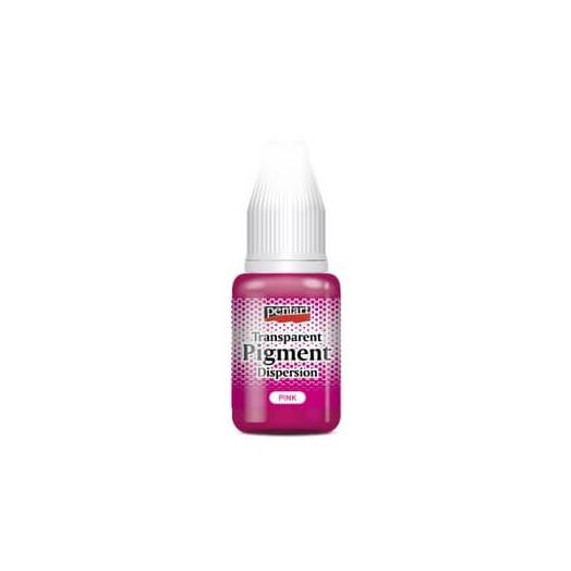 Transparent pigment dispersion 20ml, Pentart - Pink