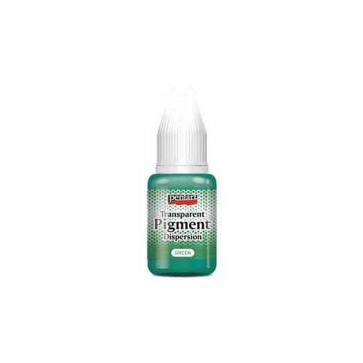 Transparent pigment dispersion 20ml, Pentart - Green