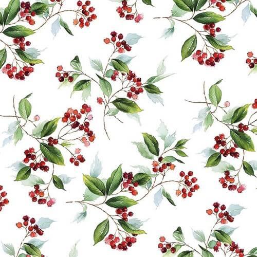 Χαρτοπετσέτα για decoupage, Winter Foliage,1 τεμ.