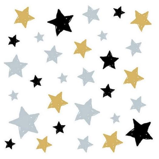 Χαρτοπετσέτα για Decoupage Swirling Stars, 1 τεμ