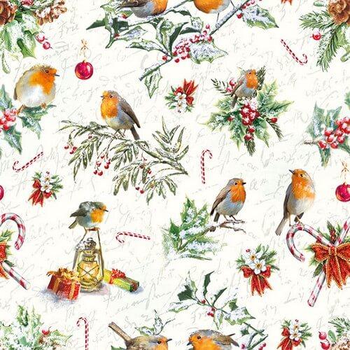 Χαρτοπετσέτα για decoupage, Christmas Ornaments,1 τεμ.