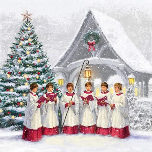 Χαρτοπετσέτα για Decoupage, Singing Choir, 1τεμ.