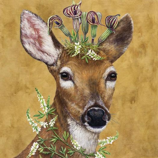 Χαρτοπετσέτα για decoupage, Woodland Princess, 1 τεμ.