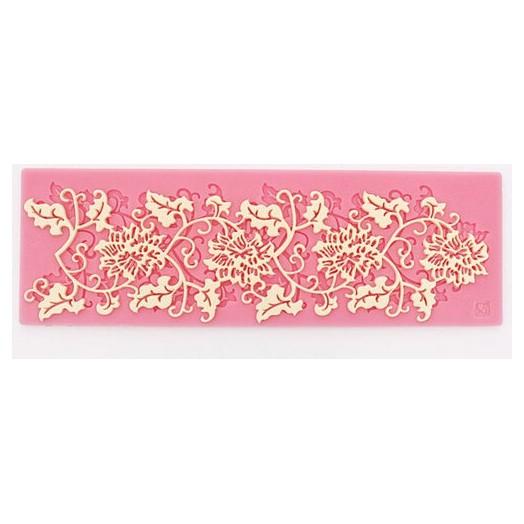 Καλούπι σιλικόνης - Lace flower- 215x70mm